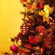 Stock Photo: Closeup Of Christmas Tree