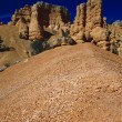 Redrock Hoodoo Formations, Red Canyon Area, Bryce Canyon National Park — Stock Photo #31687293