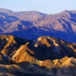 View From Zabriski Point, Death Valley National Park — Stock Photo