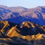 View From Zabriski Point, Death Valley National Park — Stock Photo