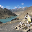 Reservoir At SimelhPass, Gyantse, Tibet, China — Stock Photo #31687759
