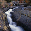 Stock Photo: South Branch Falls, Autumn Colors, Baxter State Park