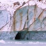 Closeup Of A Glacier — Stock Photo