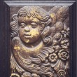 Stock Photo: Angel Door Plaque