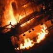 Stock Photo: Molten Steel Factory