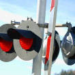 Railroad Crossing Light — Stock Photo