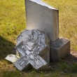 Broken Headstone In Cemetery — Stock Photo #31689619
