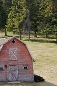 Old barn — Stock Photo