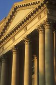Columns And Fascia, Alberta Legislature, Edmonton, Canada — Stock Photo