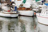 Sailboats In Marine — Stock Photo