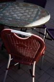 Table And Chair — Stock Photo