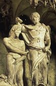 シャルトル大聖堂の内部の彫刻します。 — ストック写真