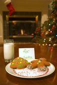 Cookies voor santa claus — Stockfoto
