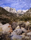Mount Whitney, Sierra Nevada Range, Sierra Nevada, California, Usa — Foto de Stock