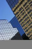 Glass Buildings And Reflections — Foto de Stock