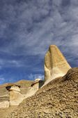 Natural Sand Towers — Stock Photo