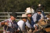 Group Of Cowboys Together — Stock Photo