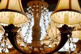 A Detailed Chandelier — Stock Photo