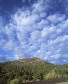 Volcanic Landscape, Sunset Crater National Monument, Arizona — Stock Photo