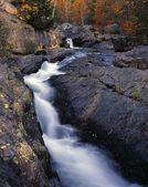 South Branch Falls, Autumn Colors, Baxter State Park — Stock Photo