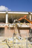 Demolition On A Building — Stock Photo