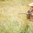 Stock Photo: Child Pretending To Hunt