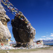 Stock Photo: Nam-Tso Lake, Tibet, China