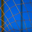 Stock Photo: Closeup Of Goalie Net