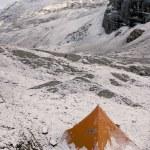 Snow Tent On Mountain — Stock Photo #31690471