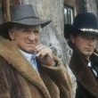 Stock Photo: Portrait Of Pair Of Cowboys