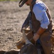 Steer Wrestling — Stock Photo #31691203