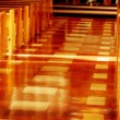 Stock Photo: Church Aisle