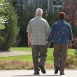 Stock Photo: Couple Walking Hand In Hand