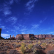 Monument Valley In Utah — Stock Photo