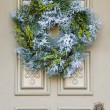 A Christmas Wreath — Stock Photo