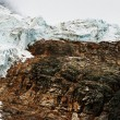 Stock Photo: A Glacial Mountain
