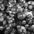 Stock Photo: Nuts Bolts Washers Screws