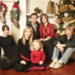 Family Christmas Portrait — Stock Photo #31693477