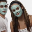 Stock Photo: Facial Masque