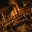 Stock Photo: Steel Factory Machinery