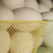 Stock Photo: Baskets Of Eggs