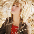 Young Woman In Prayer — Stock Photo