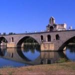 Pont St. Benezet Bridge Of Avignon — Zdjęcie stockowe