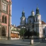 Church Of Saint Nicholas, Old Town Square (Staromestske Namesti) Prague, Czech Republic — Stock Photo
