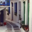 Picturesque Whitewashed Houses, Mykonos, Greece — Foto Stock #31694889