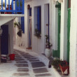 Stock Photo: Picturesque Whitewashed Houses, Mykonos, Greece