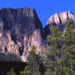 Стоковое фото: Castle Mountain In Banff Alberta