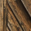 Stock Photo: Weathered Wooden Planks