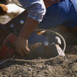 Steer Wrestling — Stock Photo #31695365