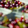 Stock Photo: Blurred Cherries